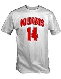 Wildcats 14 T Shirt (White S - XXL)