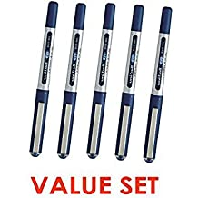 Uni-Ball Eye / Micro UB150 Rollerball Pens / 0.5mm - Blue Ink / Value Set of 5(With Our Shop Original Product Description)