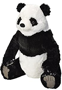 Wild Republic Republic-19512 Little Biggies Peluche de Panda Gigante, Niños Juguetes, 58 cm, (19512)