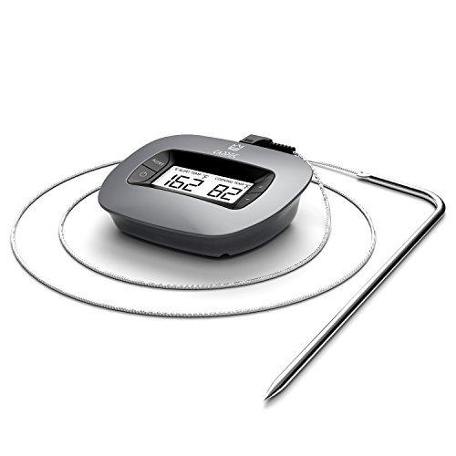Termómetro de Cocina /Horno/Asador/Ahumador de Cappec - cable resistente a altas temperaturas