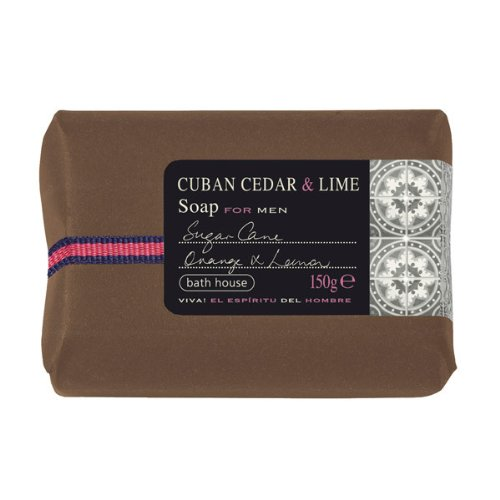 Bath House - Cuban Cedar & Lime - Soap Bar 150g