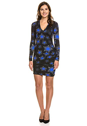Just Cavalli Damen Kurzes Kleid Mini Stretch Komfort Sommer