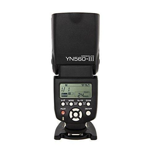 YONGNUO Blitz Flash Speedlite YN560 YN-560 III pour Canon Nikon Pentax Olympus avec WINGONEER® diffuseur