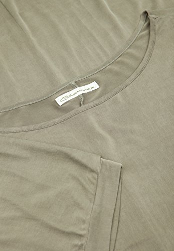 Blaumax San Francisco, T-Shirt da Donna, Manica a 3/4, Collo a Barchetta Talpa
