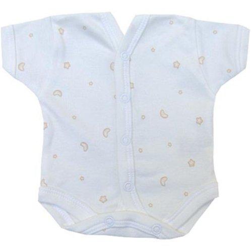 BabyPrem Baby Body NICU Neonatalen Kleine Frühchen CREME 44 - 50CM P3 (Wms-kleidung)