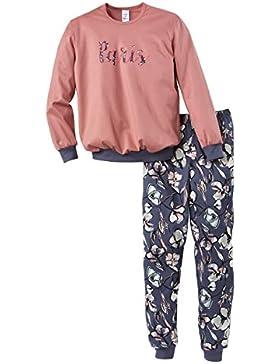 Calida Mädchen Zweiteiliger Schlafanzug Far Away Pyjama Bündchen