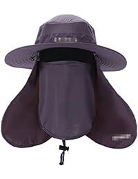 Amazon.co.uk  Purple - Bucket Hats   Hats   Caps  Clothing b8f44bf1d9f6