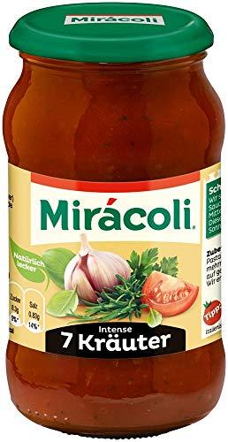 Preisvergleich Produktbild Miracoli Pasta Sauce Intense 7 Kräuter,  400g