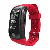 Fitness Armband mit Herzfrequenz Fitness Tracker Aktivitätstracker mit Schlaf-Monitor Kalorienzähler Sport Aktivitätstracker Push-Message/ Anrufer-ID Vibrationserinnerung fitness uhr damen schrittzähler für Android iOS Smartphone