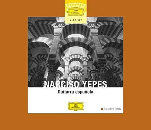 Yepes - La Guitare espagnole (Coffret 5 CD)