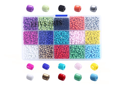 efivs-arts-2500pcs-multicolor-4mm-pony-seed-beads-for-diy-braceletsnecklaces-key-chains-and-kid-jewe