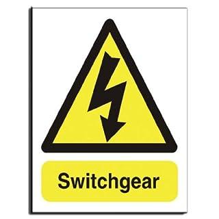 Switchgear Sign - Semi Rigid Plastic - 200x250mm(WA-020-RE)