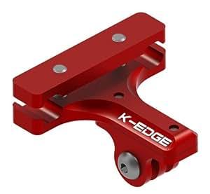K- Edge Go Big GoPro Saddle Mount K134303, Red, 352003003