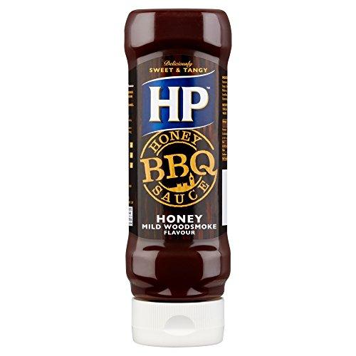 Preisvergleich Produktbild HP BBQ Sauce Honey, Kopfsteher-Squeezeflasche, 1er Pack (1 x 400 ml)