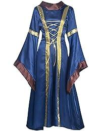 Disfraz de bruja, del renacimiento victoriano, vestido de fiesta, Halloween, de cosplay