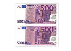 Idea Regalo - TOVAGLIOLI CARTA 500 EURO 20PZ