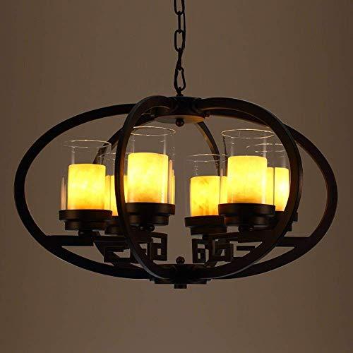 FuweiEncore New Chinese American von Einem klassischen Kronleuchter Beleuchtung von Objekten der Dekoration Cloud Study Restaurant Bar Kronleuchter Lichter (Größe: 6-in-Head). (Farbe : 6-Head) -