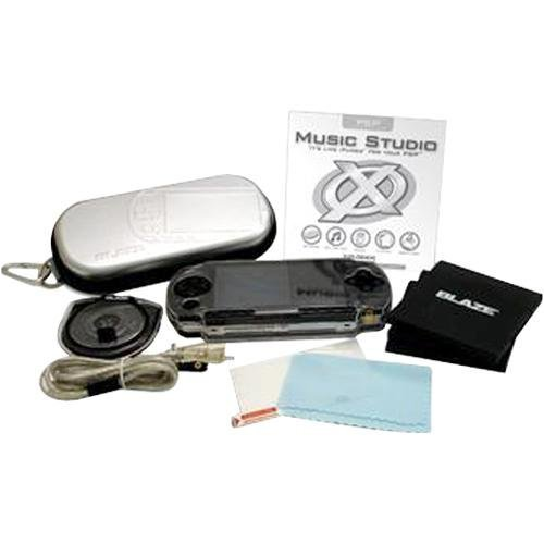 Blaze Pro Audio Sound System And Protector Case Psp
