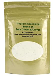 Popcorn Seasoning Sour Cream and Chives - 80 Grams