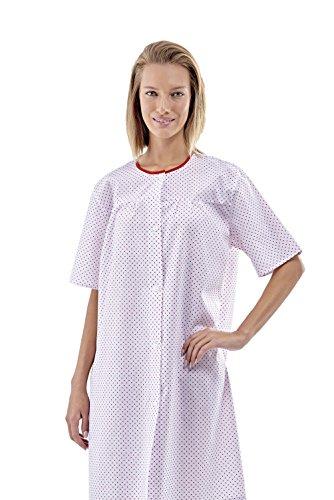 Camicia da notte / camicia post operatoria / pigiama ospedaliero