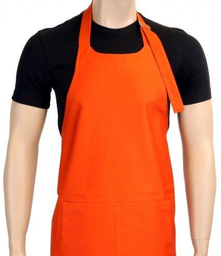Grillschürze UNI in vielen Farben ! - Grillen - BBQ GRILL SCHÜRZE GRILLSPORT Kochschürze Orange -