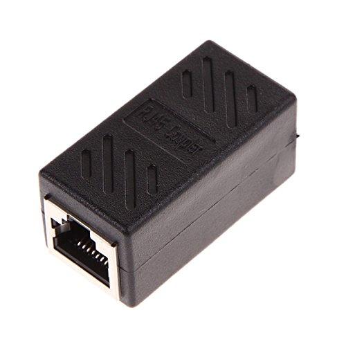RJ45 Kupplung LAN Ethernet Netzwerk Kable Verbinder Buchse auf Buchse
