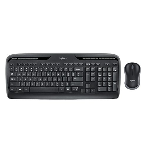 Logitech MK330 Wireless Combo Ke...