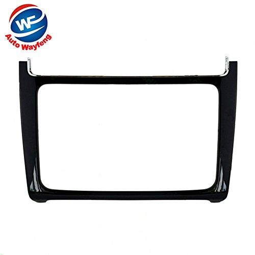 Auto Wayfeng WF® 2 DIN Piano schwarz Auto-Umrüstung DVD-Rahmen, DVD-Panel, Dash Kit, Blende, Radio Frame, Audiorahmen Fit für VW Polo 2014 + -