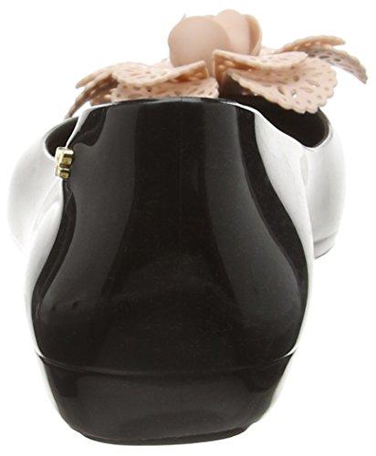Zaxy Pop Garden, Ballerines femme Noir - Black (Black Contrast)