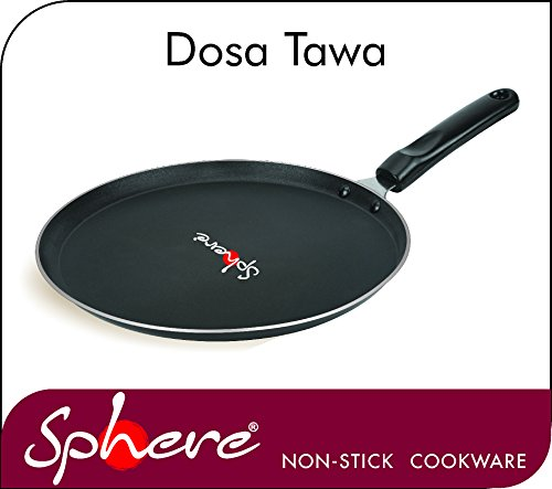 Sphere Topaz Non Stick Coating Dosa tawa  available at amazon for Rs.199