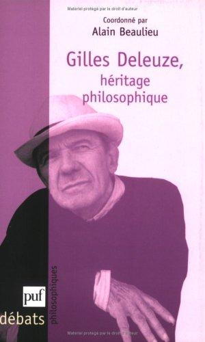 Gilles Deleuze : Héritage philosophique