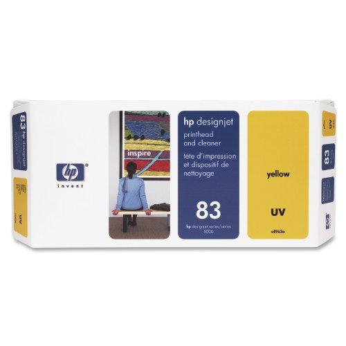 HP 83 Tête d'impression d'origine avec nettoyeur 1 x jaune