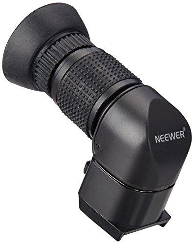 Neewer® Perfetto 1x-2.5x Mirino Angolare ad Angolo Retto per Canon, Nikon, Sony, Pentax, Panasonic e altre Fotocamere DSLR