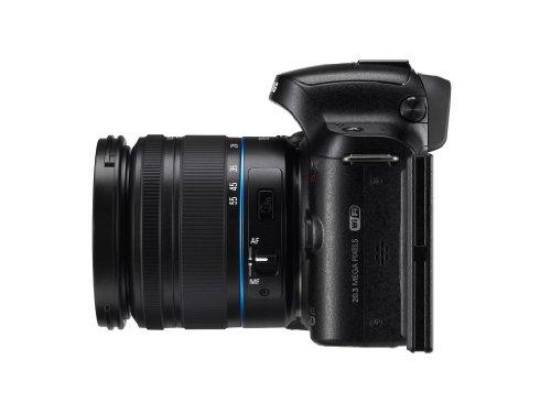 Samsung Kompakte Systemkamera, 20,3Megapixel (NX20), Schwarz - 4