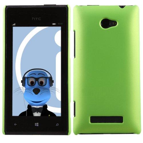 iTALKonlne HTC Windows Phone 8X Grün Hart Starke Super Dünne Tough Rückseite Haut Schutzhülle