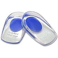 Pixnor Silikon Schuhe Pads Thenar Ferse Einlegesohlen Kissen Massagegerät (blau) preisvergleich bei billige-tabletten.eu