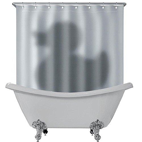 lowmany Novelty impermeabile bagno doccia tenda ganci con anello Multi Opzioni Duck Shadow