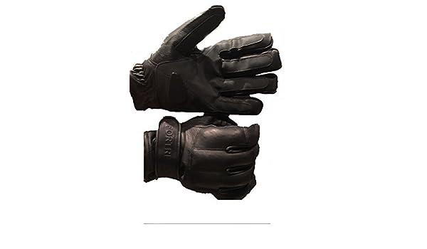 Bleistaubhandschuhe aus Rindsleder Security Handschuhe fingerlos Handschuhe