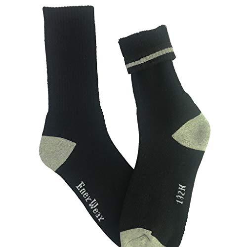 cinnamou 10 Paar Socken Herren Baumwollsocken Sneaker Socken