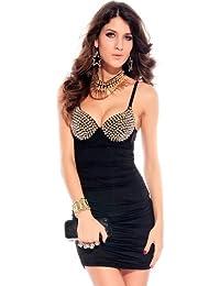 ZARINA Vestido Plisado de Mujer/Vestido de Novia Modelo 2680