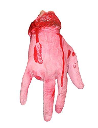 39c2336aa52e45 THEE Horror Blut Realistische Prothese Getrennten Arm Gebrochenen Hand Fuß  Streich Trick Halloween P