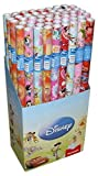Neu 5 x Original Walt Disney Geschenkpapier Kinder Geschenkpapier Cars, Star Wars, Mickey Mouse, Dory, usw.