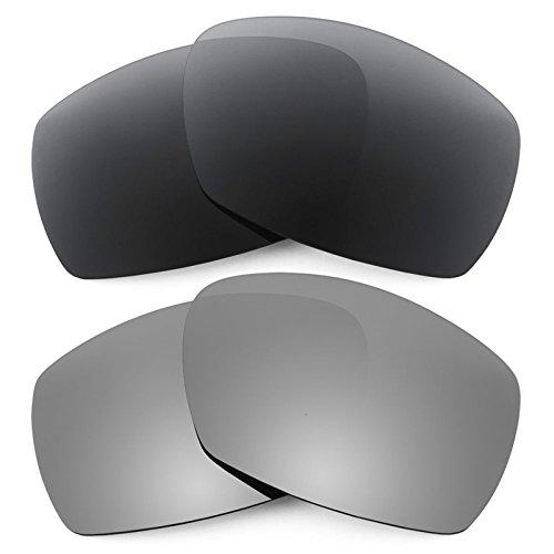 Revant Ersatzlinsen für Smith Dockside Polarisiert 2 Paar Kombipack K001