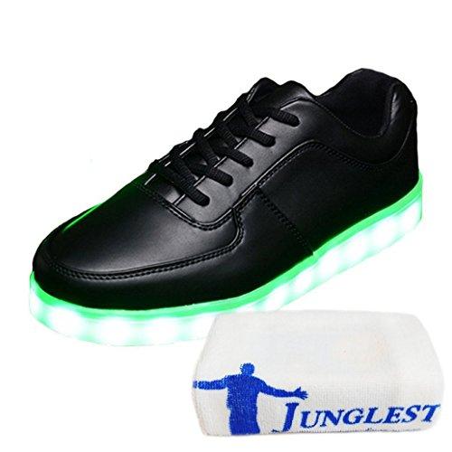 [Present:kleines Handtuch]JUNGLEST 7 Farben LED Kinder, Jungen, Mädchen führte leuchten Trainer Sneakers Turnschuhe Sportschuh c36