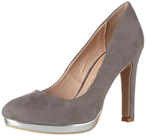 Buffalo Shoes Damen H748-1 S0015H Imi Suede Pumps, Grau (GREY333), 38 EU