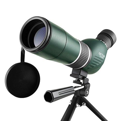 15-45X60 Zoom Spektiv Mit Portable Stativ &Tasche,OUTAD BaK7-Prisma wasserdicht Optik 126-63ft/1000Yds/42-21m/1000m,60mm Okular Telescope Geeignet für Vogelbeobachtung, Sportschützen,Jagen und Zi