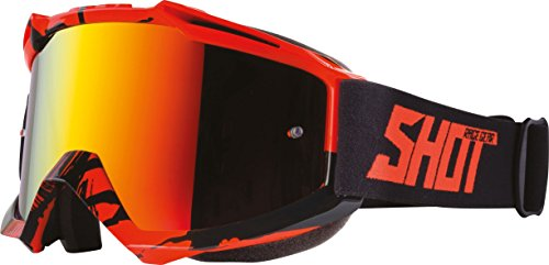 Shot Brille Roll Off Motocross 2017/Creed Neon Gelb