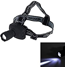 Shopee LED Headlamp Flashlight Zoomable For Camping Hiking