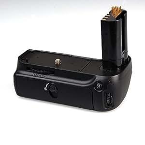 Pixtic - Poignée batterie grip/Poigné d'alimentation /battery grip compatible MB-D80 pour Nikon D80 D90