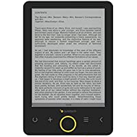 "Sunstech EBI8 - Libro electrónico de 6"" (8 GB, USB), Color Negro"